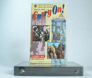 1965, 2x, Carry, Carry On, Comedy, Cowboy, New, Pal, Regardless, VHS
