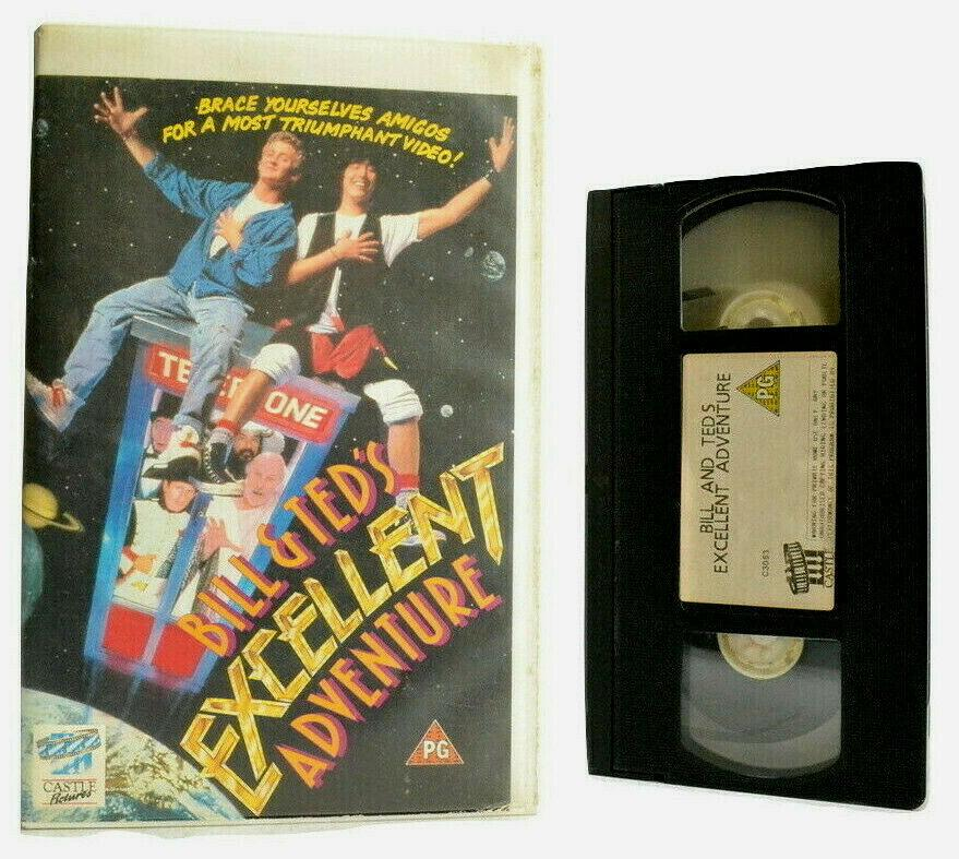 Bill & Ted's Excellent Adventure: Sci-Fi Fantasy - Castle - Large Box - Pal VHS