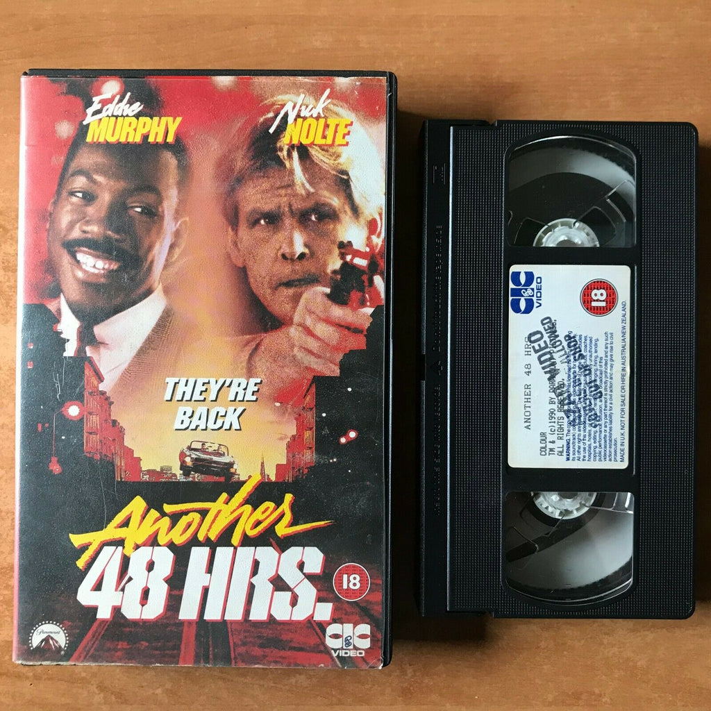 Another 48 Hours [48 Hrs.]: (1982) Buddy Cop Action [Big Box] Eddie Murphy - VHS