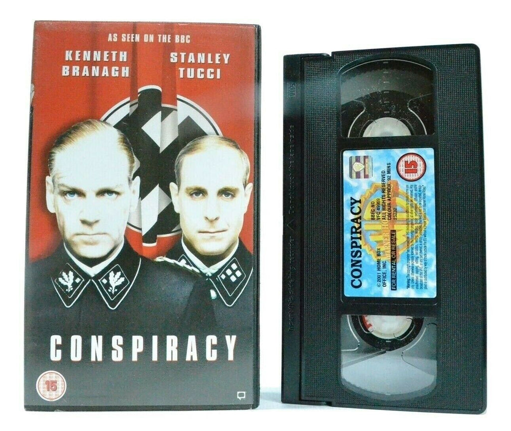 Conspiracy: (2001) TV Movie - War Drama - Holocaust - K.Branagh/S.Tucci - VHS