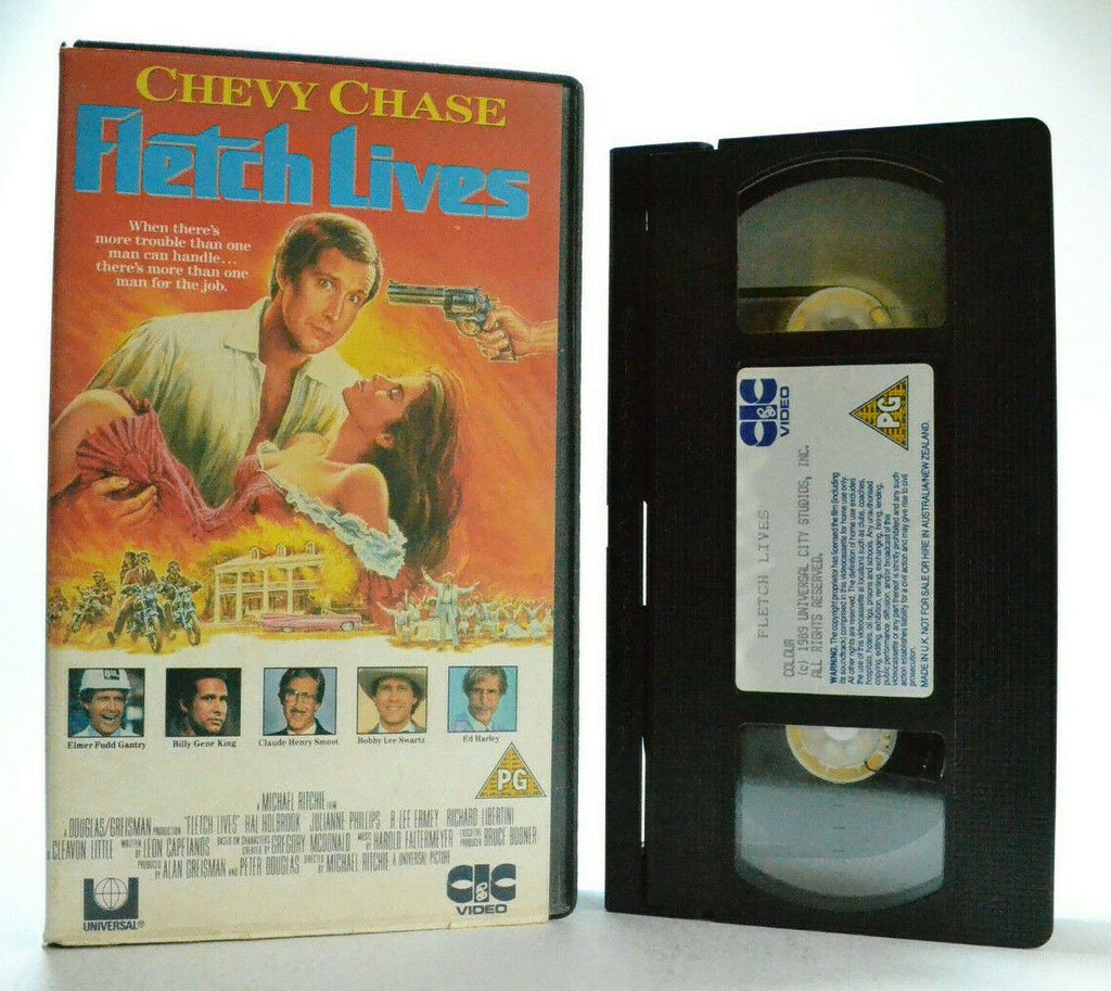 Fletch Lives - Chevy Chase - Classic Comedy - Drama - Original CIC Video - VHS