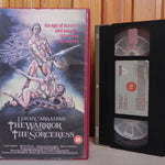 The Warrior And The Sorceress - David Carradine - Big Box - Early Cert - VHS