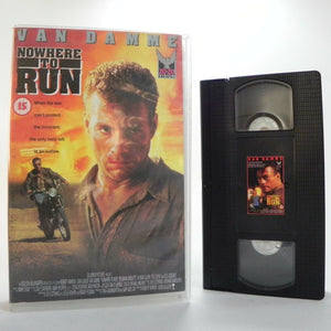 Nowhere To Run - 20/20 Vision - Large Box - Action - Jean-Claude Van Damme - VHS