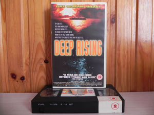 Deep Rising - Oceanic Sci-Fi - Titanic With Teeth - Treat Williams - Pal VHS