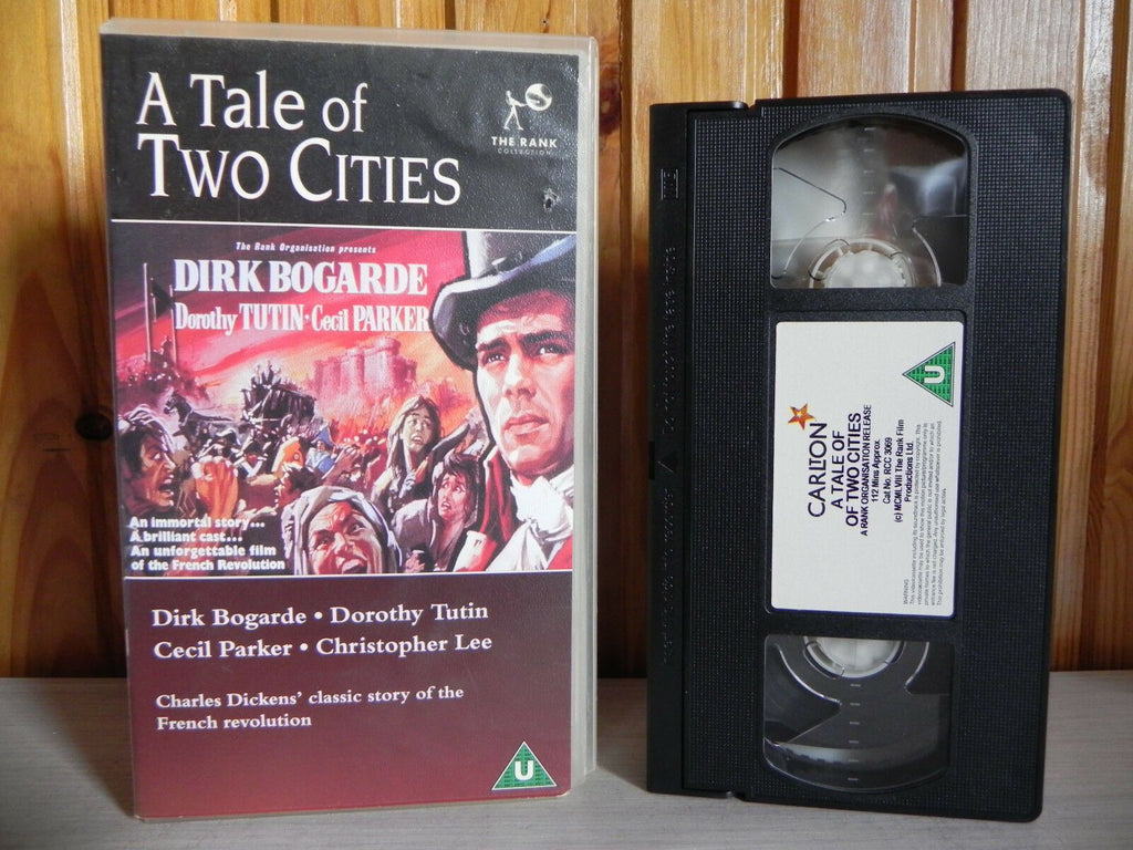 Carlton, Christopher Lee, Cities, Deleted Title, Drama, Epic, Immortal, Of, Pal, Ralph Thomas, Story, Tale, Two, U, VHS