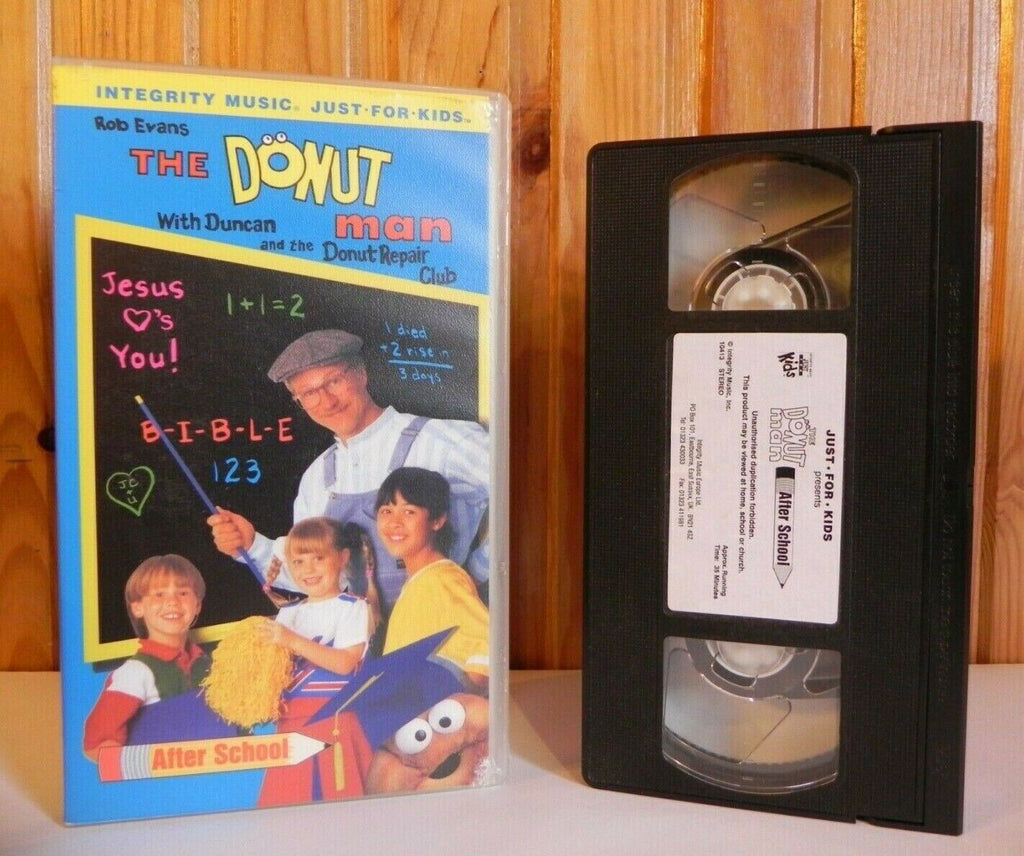 Donut Man; [Rob Evans] Christian Values - Educational - Children's - Pal VHS