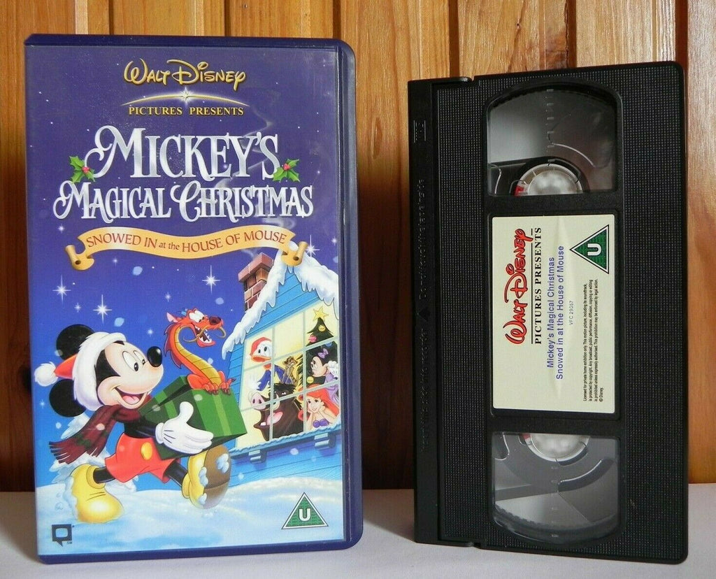 Mickey's Magical Christmas: Snowed In At The House Of Mouse - Disney - Pal VHS