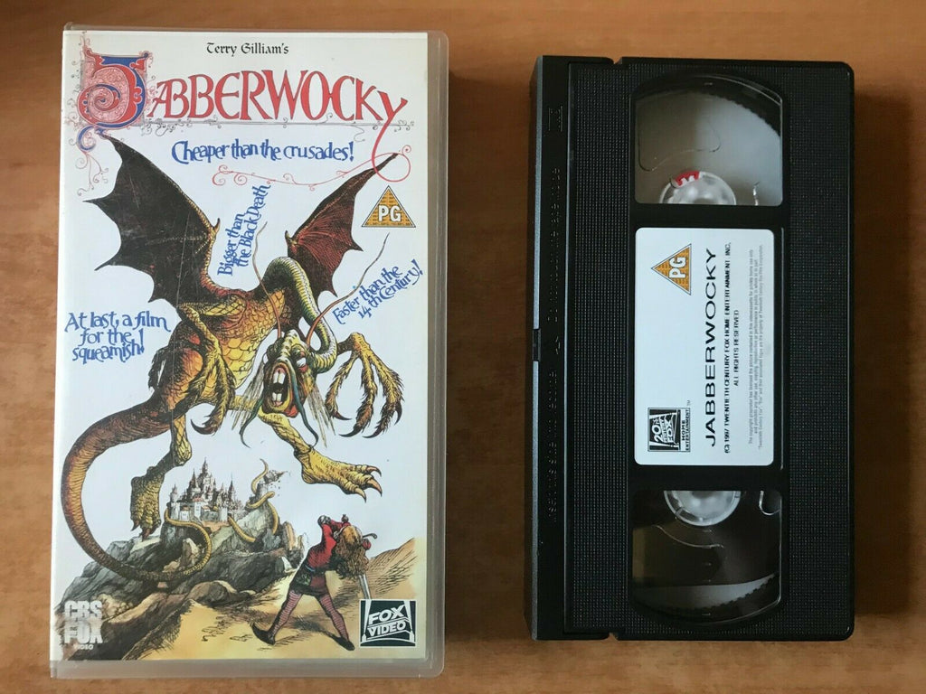 Jabberwocky (1977); [Terry Gilliam] Fantasy Adventure - Michael Palin - Pal VHS