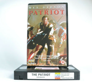 The Patriot: Historical Fiction War Drama - American Revolutionary War - Pal VHS