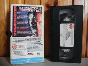 Terminator 2 (+ Making Of ); [Guild] Carton Box - Action Sci-Fi - Schwarzenegger - Pal VHS