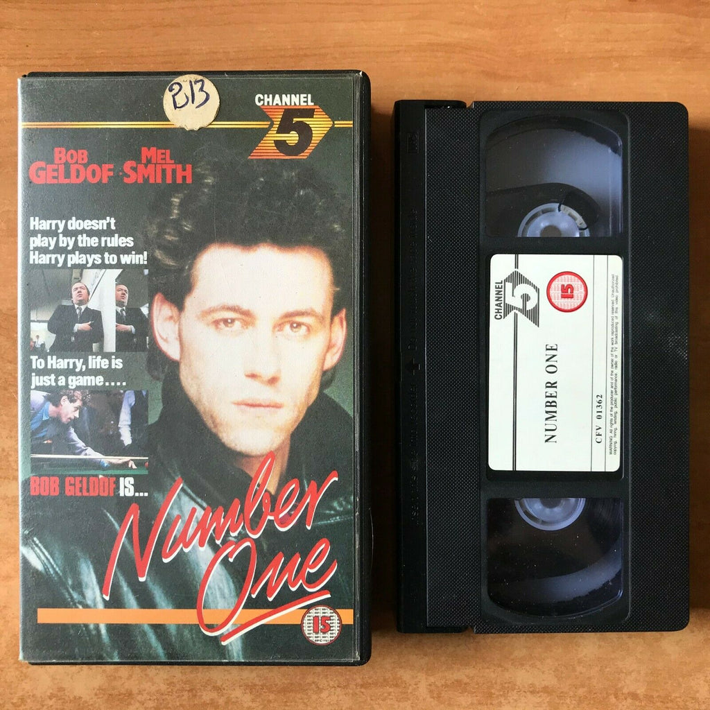 Number One; [Channel 5]: (1985) Made For TV - Drama - Bob Geldof - Pal VHS