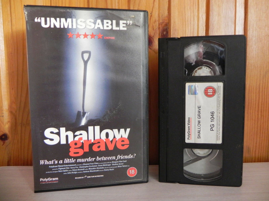 Shallow Grave - What's A Little Murder Between Friends - Crime Action - OOP Pal VHS