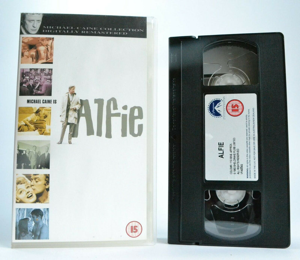 Alfie (1965): Digitally Remastered - Comedy - Michael Caine/Julia Foster - VHS