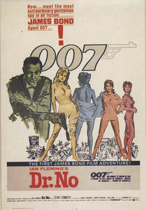 Dr.No (1962); 007 James Bond - Action -< Digitally Mastered>- Sean Connery - VHS