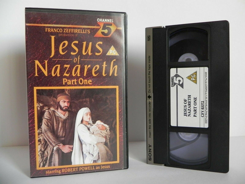 Jesus Of Nazareth - Part One - Robert Powell - Anne Bancroft - Pal VHS
