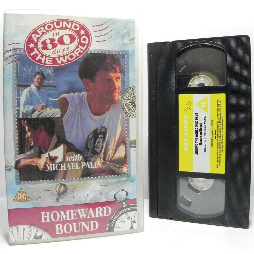Around The World In 80 Days: By Michael Palin - Homeward Bound - TV Series - VHS