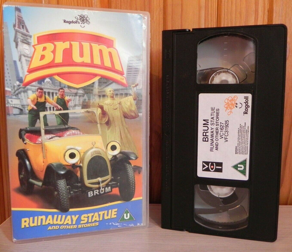 Brum: Runaway Statue - Animated - Fun Adventures - Children's - Pal VHS