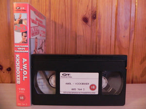 201, Damme, Kickboxer, Kung-Fu, Martial Arts, Minutes, PAL, Thai, Van, VHS, Video