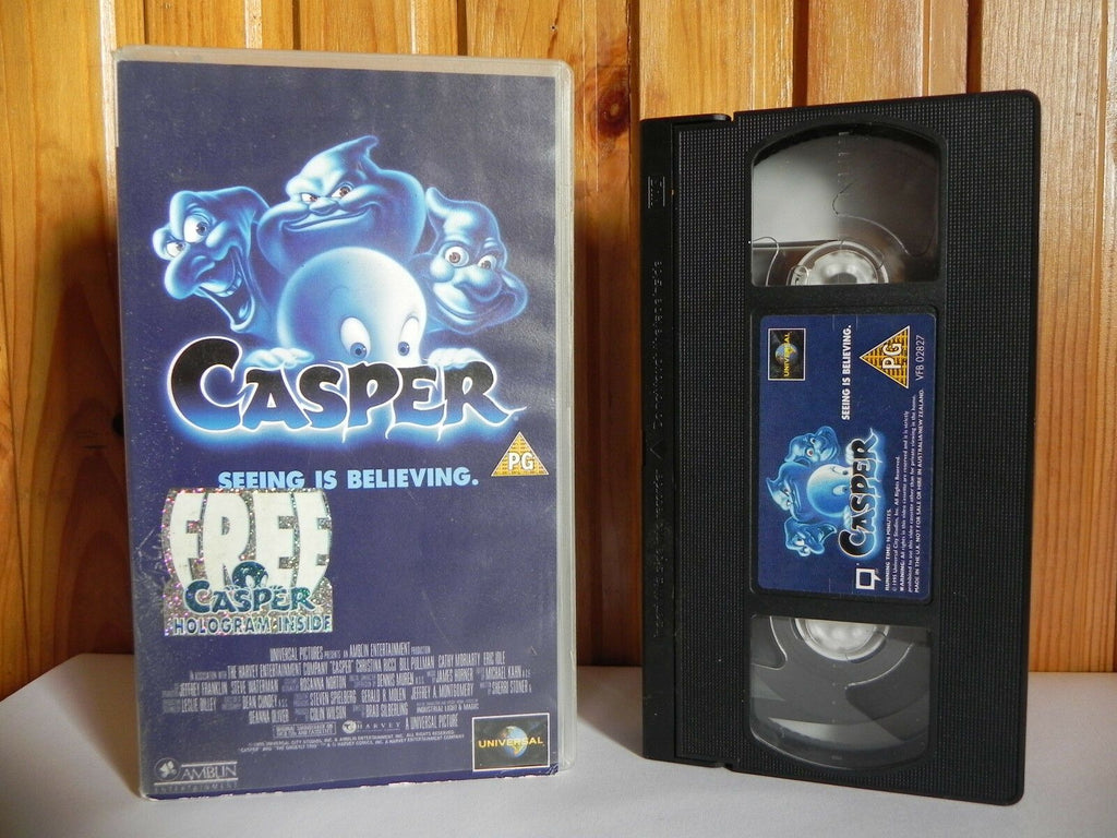 Casper - Small Box - Universal - Home Release - Family - Christina Ricci - VHS