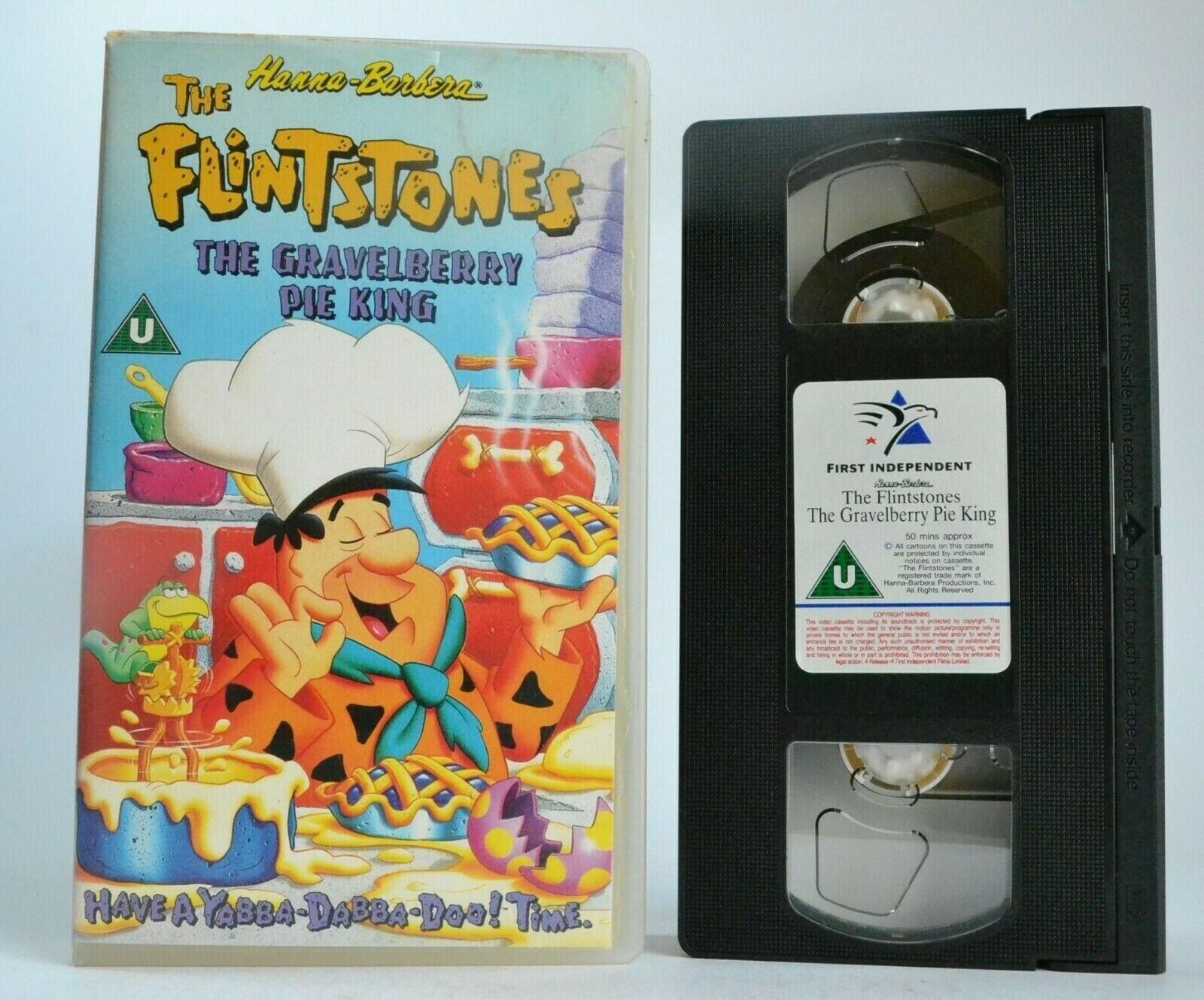 The Flintstones: The Gravelberry Pie King - Animated Adventures - Kids - Pal VHS