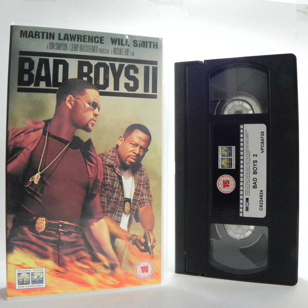 Bad Boys 2 - Columbia - Martin Lawrence - Will Smith - Crime/Action/Comedy VHS