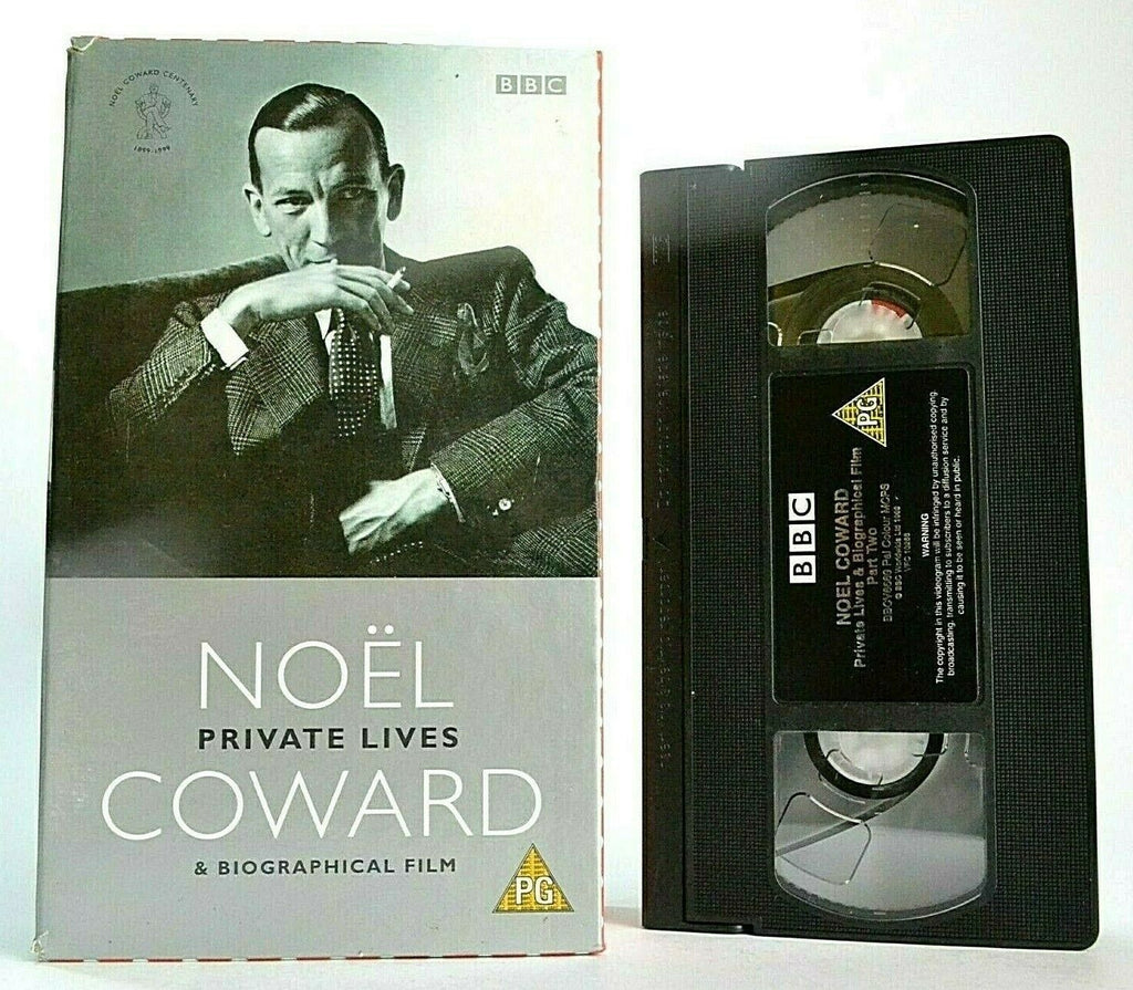 Noel Coward: Private Lives / Biographical Film - Carton Box - Entertainer - VHS