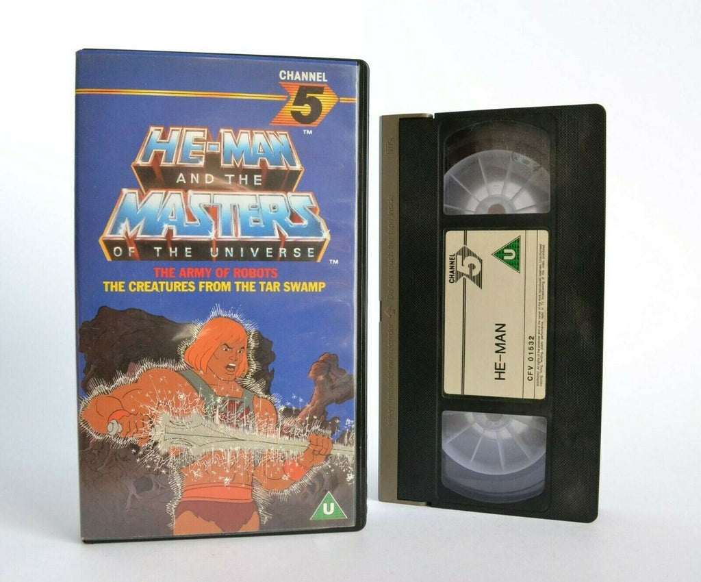He-Man And The Masters Of The Universe: The Army Of Robots - Children's - VHS