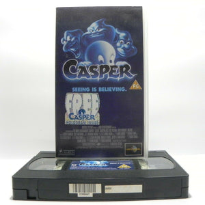 Casper The Friendly Ghost (1995): Christina Ricci / Bill Pullman - Fantasy Comedy - Pal VHS