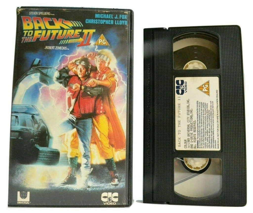 Back To The Future 2: Sci-Fi Action - Michael J. Fox / Christopher Lloyd - VHS
