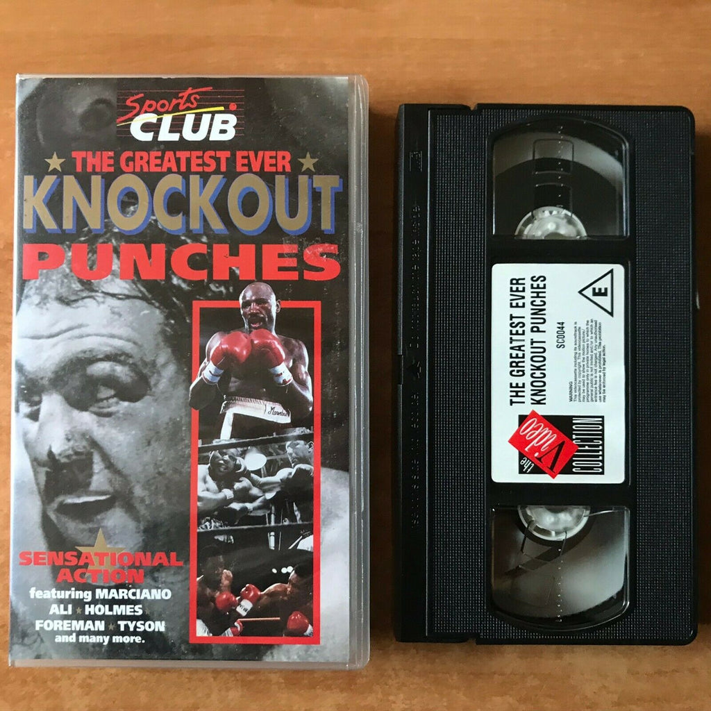 The Greatest Ever Knockout Punches [Sports Club] Boxing - Mike Tyson - Pal VHS