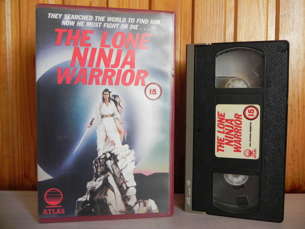 Lone Ninja Warrior - Atlas Big Box - Chen Hsing - Tien Peng - Pre-Cert - Pal VHS