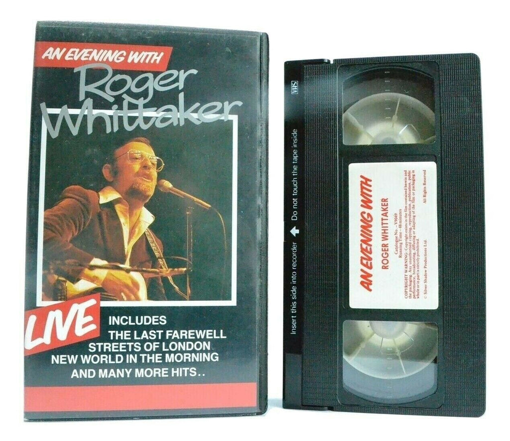 An Evening With Roger Whittaker - Live Performance - Greatest Hits - Music - VHS