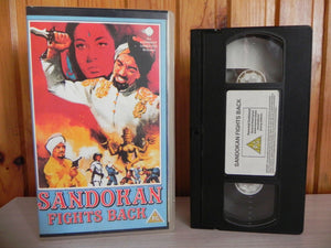 Sandokan Fights Back - Invincible Tiger Of Malaysia - Ray Danton - Mystery - VHS