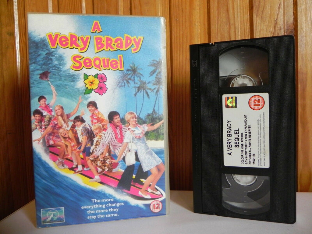 A Very Brady Sequel - Universal - Comedy - Shelley Long - Large Box - Pal VHS