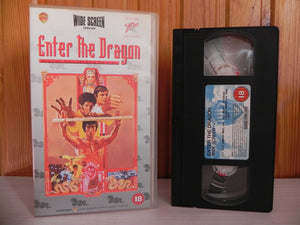Action, Bruce, Bruce Lee, Dragon, Enter, Enter The Dragon, Kung Fu, Lee, PAL, Remastered, The, VHS, Widescreen