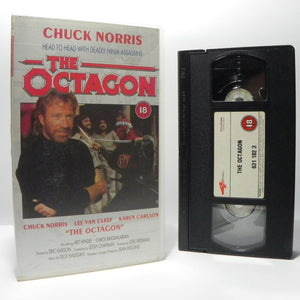 The Octagon: Chuck Norris - Martial Arts (1994) - L.Van Cleef/K.Carlson - VHS