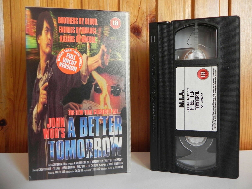 18, 1994, Action, Action & Adventure, Better, Chow, Fat, John Woo, Known, Leslie Cheung, Pal, VHS, Video, Well, Yun