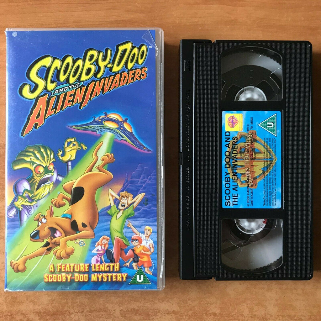 Scooby-Doo And The Alien Invaders - Animated [Jennifer Love Hewitt] Kids - VHS