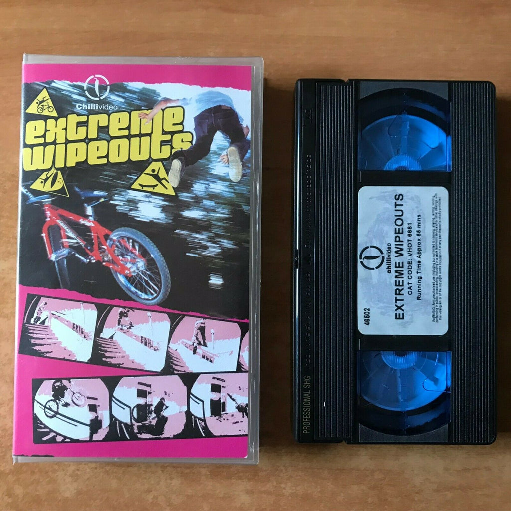 Extreme Wipeouts [Extreme Sports]: Skateboarding - Snowboard - BMX - Pal VHS