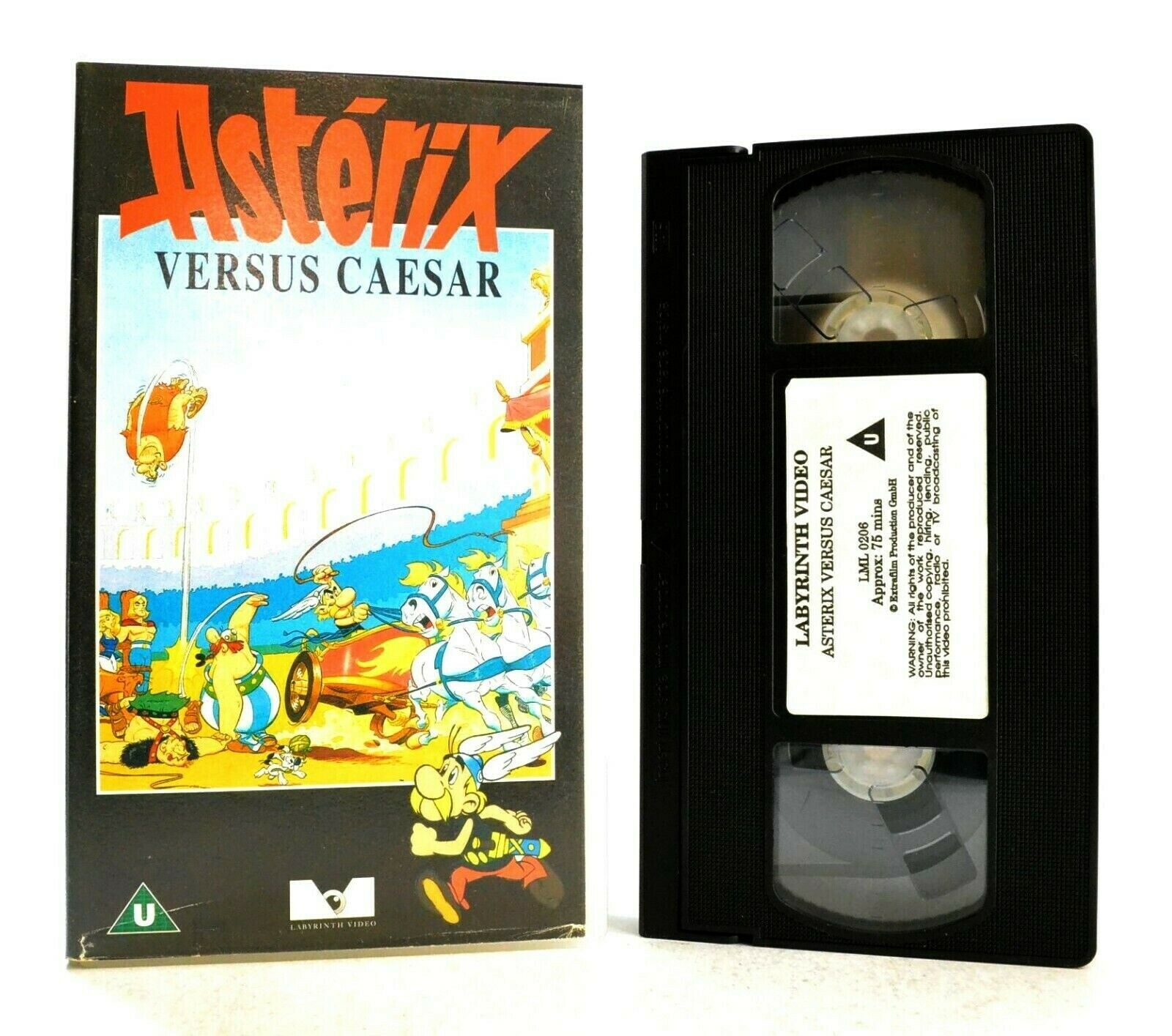 Animated, Asterix, Children's & Family, Classic, Pal, U, United Kingdom, Versus, VHS