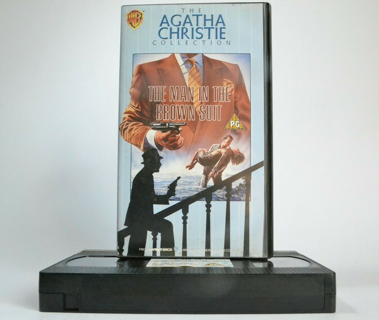 The Man In The Brown Suit; [Agatha Christie]: (1989) Made For T.V. - Crime - VHS