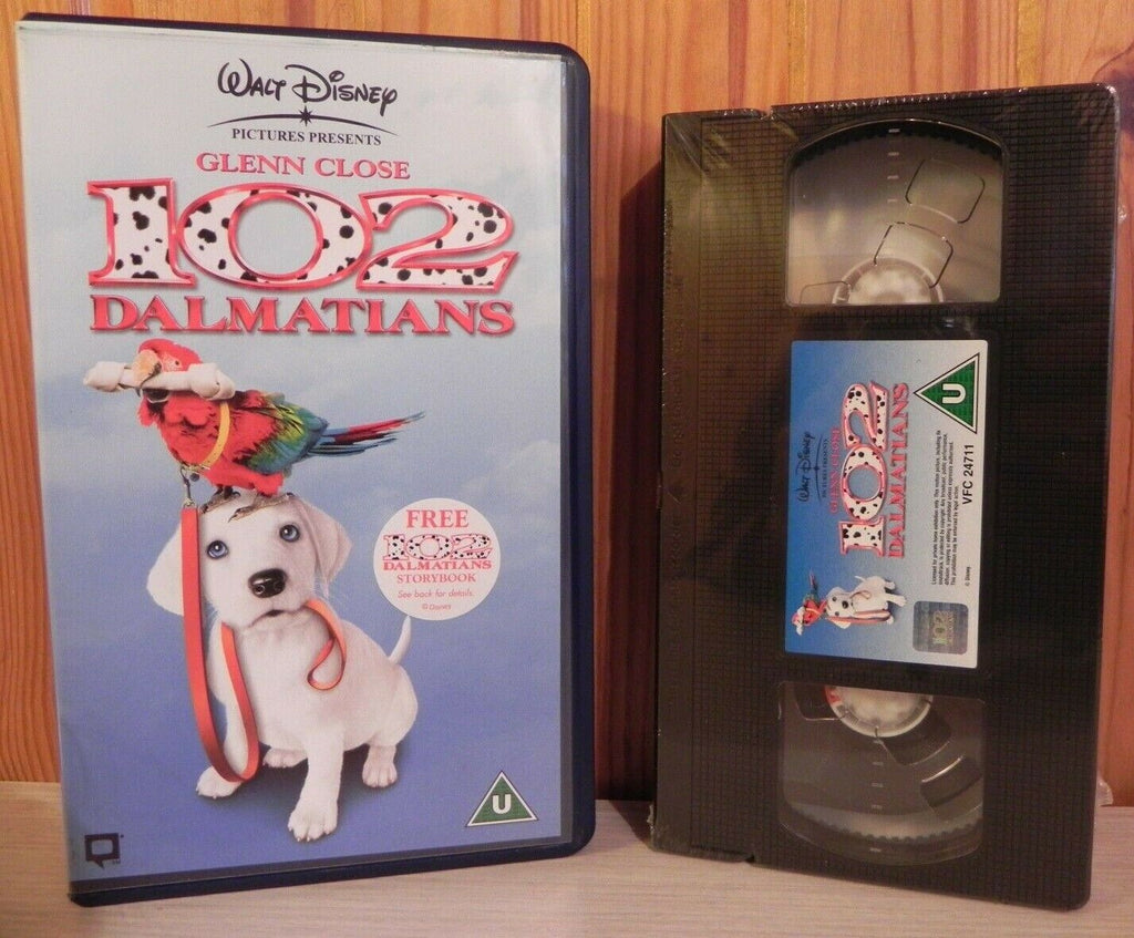 102, Adventure, Brand, Children's & Family, Disney, Kids, New, PAL, PG, Sealed, United Kingdom, VHS, Walt, Walt Disney, Walt Disney Studios