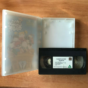 Rugrats In Paris: The Movie; [Nickelodeon] Large Box - Animated - Kids - Pal VHS