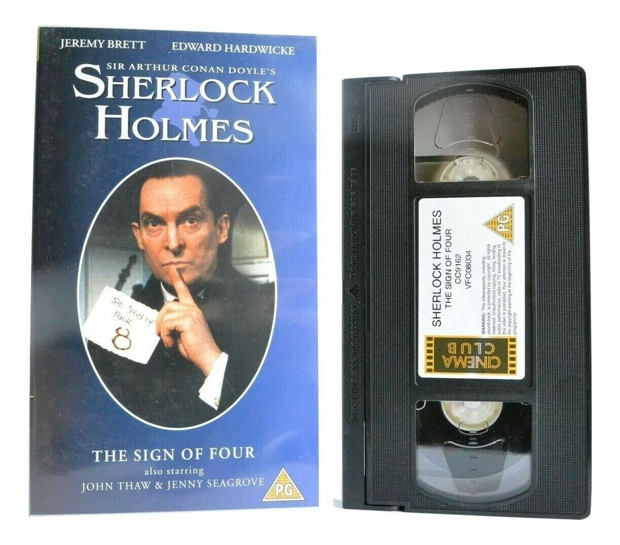 Sherlock Holmes: The Sign Of Four - TV Movie - Crime Drama - J.Brett - Pal VHS