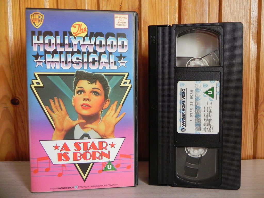 A Star Is Born - Warner Home - Hollwood Musical - Judy Garland - Pal VHS