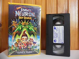 Jimmy Neutron: Boy Genius - Paramount - Family - Adventure - Large Box - VHS