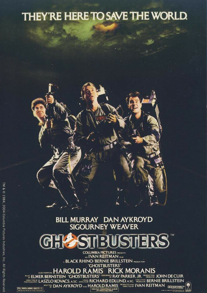 Ghostbusters 1 & 2: Sci-Fi Comedy Smash - Cinema Club Video - Bill Murray - VHS
