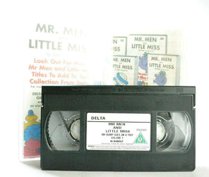 Mr.Men And Little Miss: Mr.Bump Goes On A Trip - Animated - Children's - Pal VHS