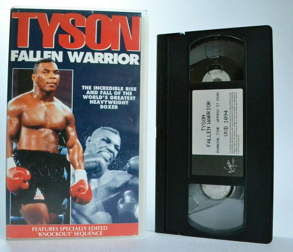 "Tyson: Fallen Warrior - ""Iron"" Mike Tyson - Greatest Heavyweight Boxing - VHS"