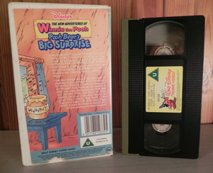 Winnie The Pooh: Pooh's Bears Big Suprise - Disney - Animated - Kids - Pal VHS